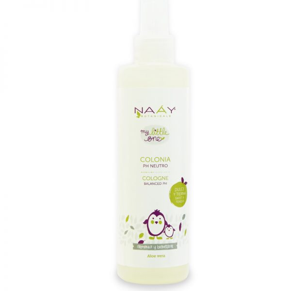Colonia pH neutro dulce y tierna de Naáy 250ml
