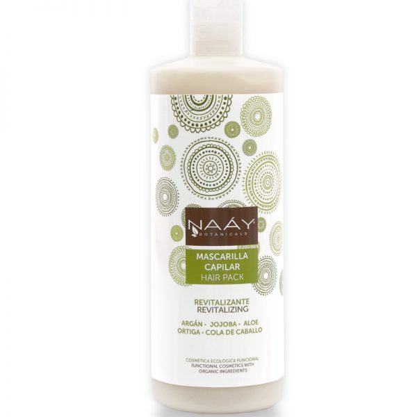 Mascarilla capilar revitalizante hair pack de Naáy 500ml